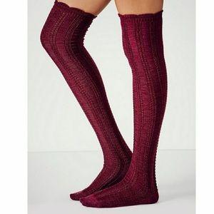 Free People Knee high socks